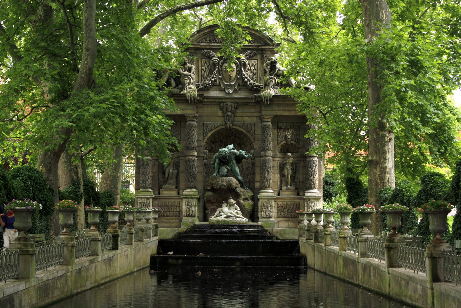 Image gallery jardin du luxembourg fountains for Jardin du luxembourg